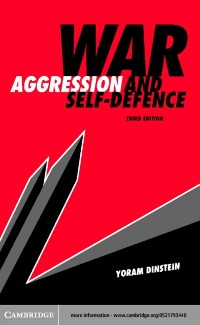 Cover War, Aggression and Self-Defence