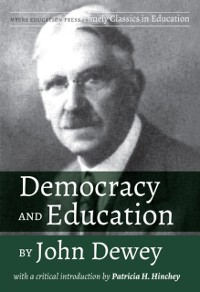 Cover Democracy and Education by John Dewey