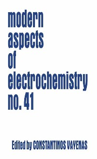 Cover Modern Aspects of Electrochemistry 41