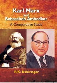 Cover Karl Marx and Babasaheb Ambedkar