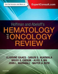 Cover Hoffman and Abeloff's Hematology-Oncology Review E-Book