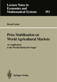 Cover Price Stabilization on World Agricultural Markets