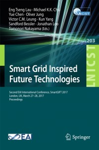 Cover Smart Grid Inspired Future Technologies