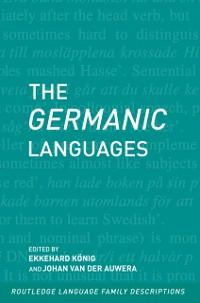 Cover Germanic Languages