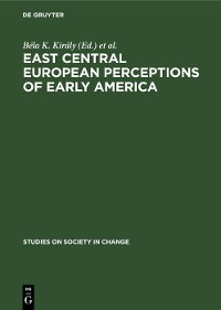 Cover East Central European Perceptions of Early America