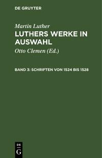 Cover Schriften von 1524 bis 1528
