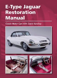 Cover E-Type Jaguar Restoration Manual
