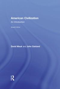 Cover American Civilization