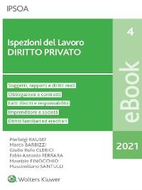 Cover Ispezioni del lavoro - diritto privato