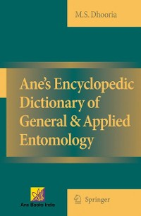 Cover Ane's Encyclopedic Dictionary of General & Applied Entomology