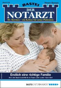 Cover Der Notarzt 334 - Arztroman