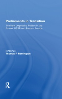 Cover Parliaments In Transition