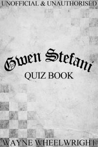 Cover Gwen Stefani Quiz Book