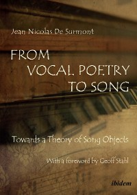 Cover From Vocal Poetry to Song