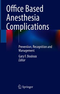 Cover Office Based Anesthesia Complications
