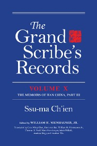 Cover The Grand Scribe's Records, Volume X