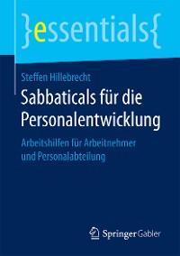 Cover Sabbaticals für die Personalentwicklung