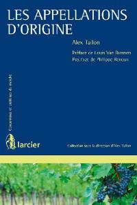 Cover Les appellations d'origine