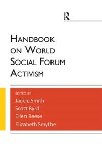 Cover Handbook on World Social Forum Activism