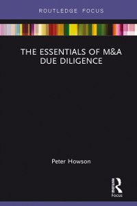 Cover Essentials of M&A Due Diligence