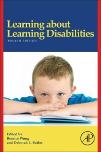 Cover Learning About Learning Disabilities