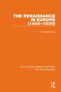 Cover Renaissance in Europe