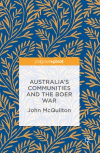 Cover Australia's Communities and the Boer War