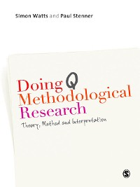 Cover Doing Q Methodological Research