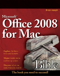 Cover Microsoft Office 2008 for Mac Bible