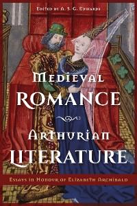 Cover Medieval Romance, Arthurian Literature