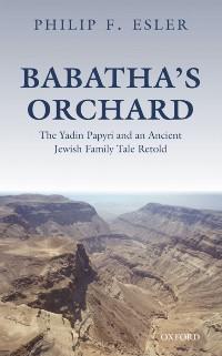 Cover Babatha's Orchard