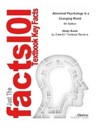 Cover Abnormal Psychology in a Changing World