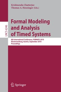 Cover Formal Modeling and Analysis of Timed Systems