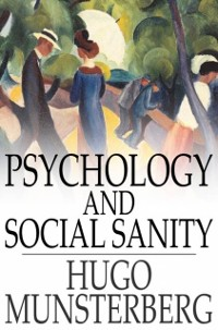 Cover Psychology and Social Sanity