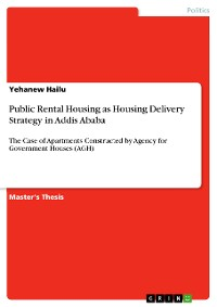 Cover Public Rental Housing as Housing Delivery Strategy in Addis Ababa