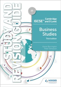 Cover Cambridge IGCSE and O Level Business Studies Study and Revision Guide 3rd edition