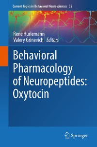 Cover Behavioral Pharmacology of Neuropeptides: Oxytocin