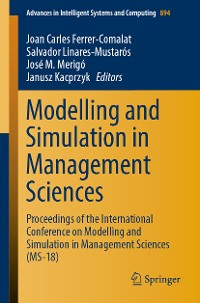 Cover Modelling and Simulation in Management Sciences