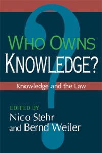 Cover Who Owns Knowledge?