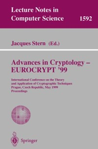 Cover Advances in Cryptology - EUROCRYPT '99