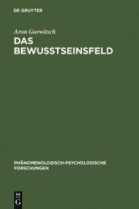 Cover Das Bewußtseinsfeld