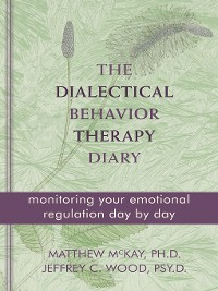 Cover The Dialectical Behavior Therapy Diary
