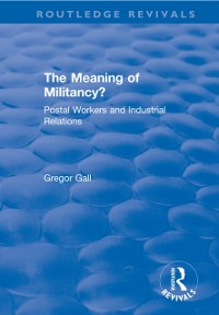 Cover Meaning of Militancy?