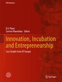 Cover Innovation, Incubation and Entrepreneurship