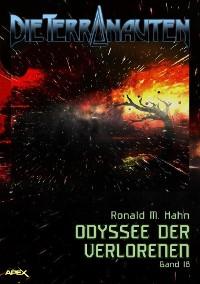 Cover DIE TERRANAUTEN, Band 18: ODYSSEE DER VERLORENEN