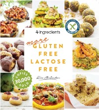 Cover More Gluten Free Lactose Free