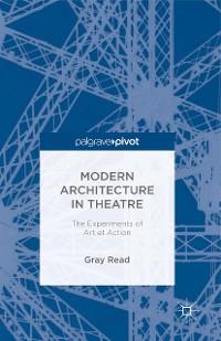 Cover Modern Architecture in Theatre