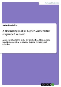 Cover A fascinating look at higher Mathematics (expanded version)