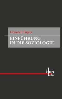Cover Einführung in die Soziologie