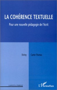Cover Coherence textuelle